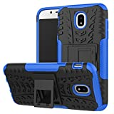galaxy s1 cover - Galaxy J3 Pro 2017 Case, Linkertech [Shockproof] Tough Rugged Dual Layer Protector Hybrid Case Cover with Kickstand For Samsung Galaxy J3 Pro J330 J330G (S-1)