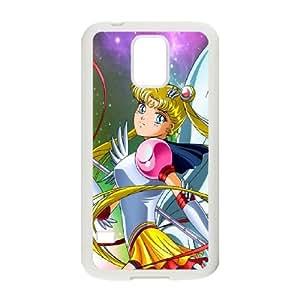 Sailor Moon Samsung Galaxy S5 Cell Phone Case White