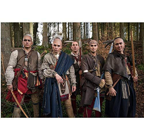 Outlander Group Cast Shot Men Standing Tall 8 x 10 Inch Photo