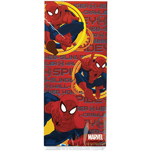 Wilton Treat Bags, 4 by 9.5-Inch, Spider-Man, 16 Per Package (Spider Man Treat Bags)