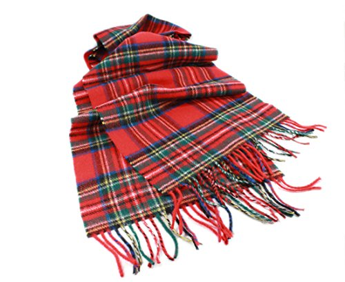 Royal Stewart Tartan (Lambswool Royal Stewart Tartan Plaid Scarf 63