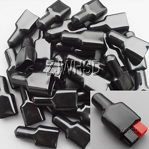 50pcs-PVC-Cover-Flame-Retardant-Sleeve-fits-for-ANDERSON-Powerpole-Connector-Housing-Gold-Sister