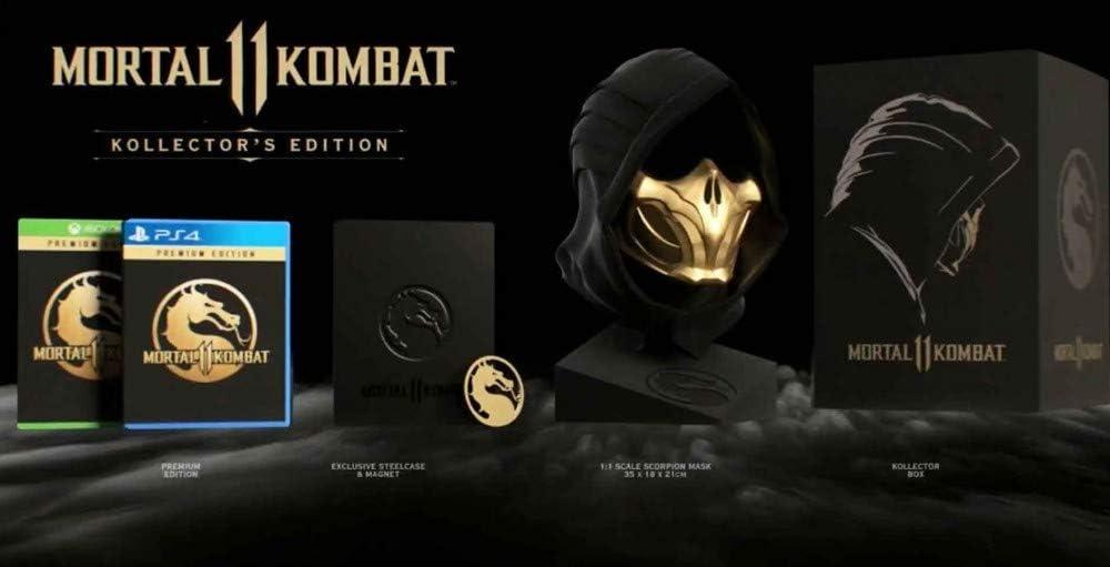 Mortal Kombat 11 Kollektors Edition PS4 Spiel: Amazon.es: Videojuegos