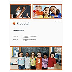 Proposal Pack Education #3 - Business Proposals, Plans, Templates, Samples and Software V18.0