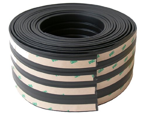 Pacer Performance 22-243 Black 20' x 4 Wide Rocker Panel Side Molding Kit