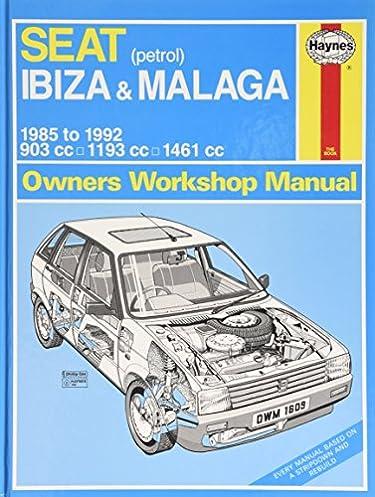 seat ibiza malaga petrol 85 92 b to k service repair manuals rh amazon com seat ibiza mk3 service manual seat ibiza 2013 owner's manual