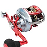 Cheap SEAHAWK Saltwater Baitcasting Reel Right Left Hand Baitcaster 5+1 Shiled Ball Bearings 7.1:1 Super Power Oversized Handle