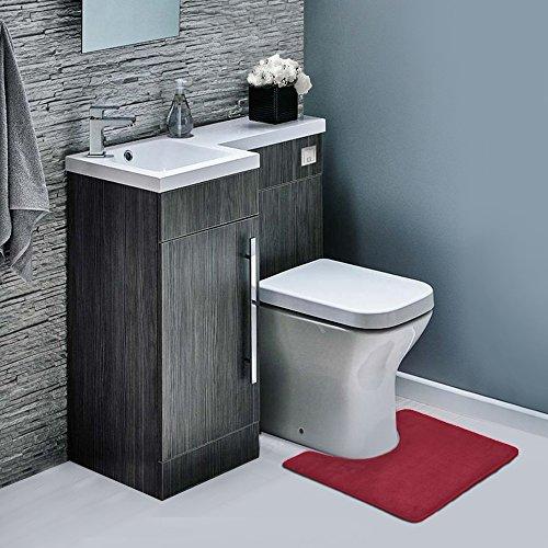 Clara Clark Non Slip Memory Foam Tub-Shower Bath Rug Set