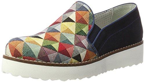 combi Marc blue Donna Romy Shoes Mocassini Blau 4n4xqRZYw
