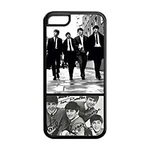 The Beatles Custom Band Music cover TPU Case Back Cover For Iphone 5c iphone5c-NY048