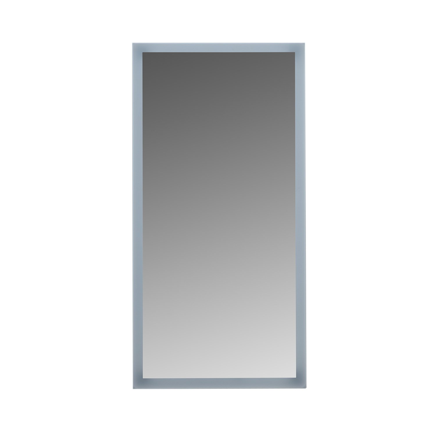 MAYKKE Isabella 20'' W x 40'' H LED Mirror, Wall Mounted Lighted Bathroom Vanity Mirror, Frameless Mirror, Horizontal or Vertical Mirror with LED Lighting Border UL Certified, LMA1002001