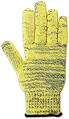 Attached 24 Kevlar Sleeve Magid Glove /& Safety 93KV24SL-L Magid Cut Master Knit Glove Yellow Large Made with Dupont Kevlar 1000