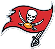 NFL Siskiyou Sports Fan Shop Tampa Bay Buccaneers Auto Decal 8 inch sheet Team Color