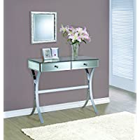 Coaster Home Furnishings 950355 Console Table Mirror Panels