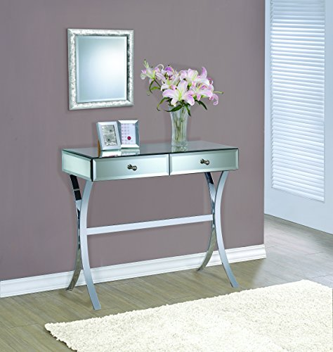 Coaster Furniture 950355 Console Table Mirror Panels