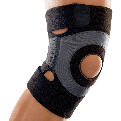 Futuro Sport Moisture Control Knee Support, Provides Support for Stiff Knees, Medium, Moderate Support by Futuro