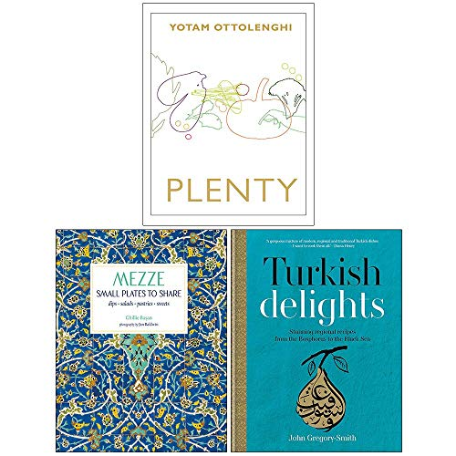 Plenty, Mezze Small Plates To Share, Turkish Delights 3 Books Collection Set