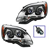 09 gmc headlights - Headlights Headlamps w/ Blue Lens Left & Right Pair Set for 07-09 GMC Acadia