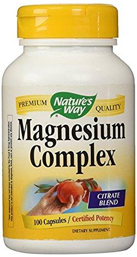 Magnesium Complex 500mg Nature's Way 100 Caps (100 Complex Magnesium Capsules)