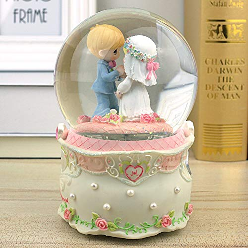 SHANYYH Home Decorations Music Box Decorations Birthday Toads Wedding Gifts, Self-Spraying ()