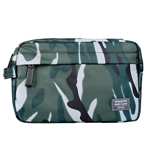 Dececos Travel Toiletry Organizer Bag Shaving Kit Dopp Toiletry - Needed Things Camping For Trip A