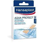 Hansaplast Aqua Protect wasserdichte Pflaster, Wundpflaster mit extra starker Klebkraft, Heftpflaster ideal zum Duschen…
