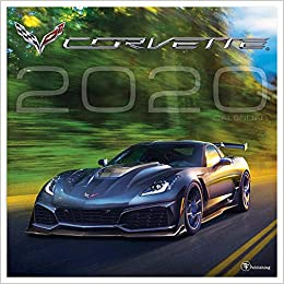 Corvette Calendar 2020 2020 Corvette Wall Calendar: General Motors: 9781643321608: Amazon