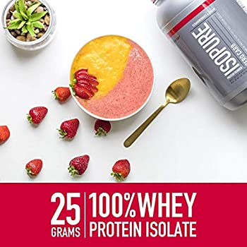 Isopure Low Carb Protein Powder, Whey Protein Isolate, Flavor: Dutch Chocolate, 3 Pounds (Packaging May Vary) 5