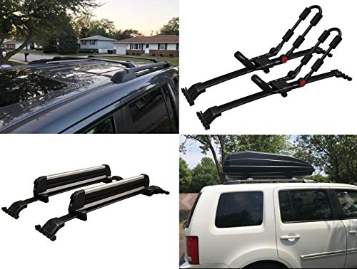 BRIGHTLINES Roof Rack Cross Bar Replacement for Honda Pilot 2009-2015