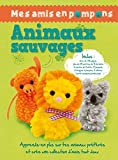 Mes amis en pompons animaux sauvages
