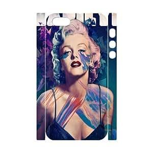 diy zhengMarilyn Monroe Custom 3D Cover Case for iphone 5c/,diy phone case ygtg-345563