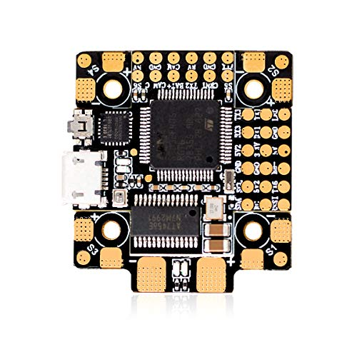 HGLRC Forward F4 AIO FC 20X20 Brushless Flight Controller STM32F405 3S- 6S Built-in Betaflight OSD to Adjust PID for FPV Racing Drone Hobby RC Quadcopters Multirotors