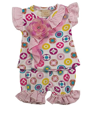 Haute Baby Dainty Dots Diaper Set-0/3M by Haute Baby