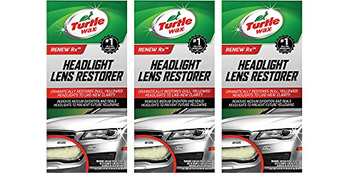 Turtle Wax T-240KT Headlight EEAeC Lens Restorer Kit, Three Units