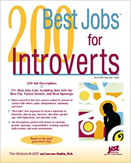 200 best jobs for introverts laurence shatkin 9781593574772 amazoncom books