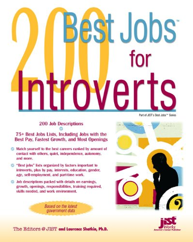 200 Best Jobs for Introverts (Best Business Jobs For Introverts)