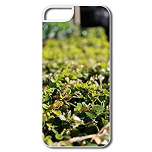 IPhone 5 5S Cover, Grass White Case For IPhone 5S by supermalls
