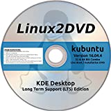 kubuntu Linux 16.04.4 LTS 32 & 64 Bit, Ubuntu + KDE Plasma 5 - Latest Long Term Support Release