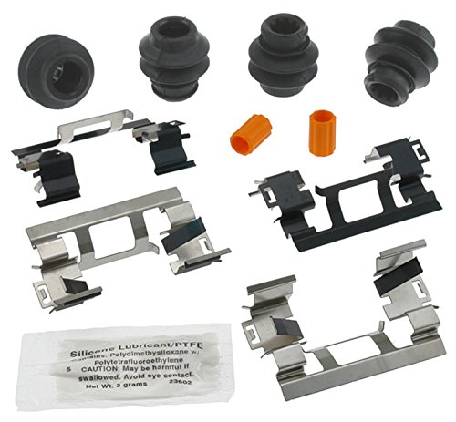 ACDelco 18K1749X Professional Front Disc Brake Caliper Hardware Kit with Clips, Seals, Bushings, and Lubricant