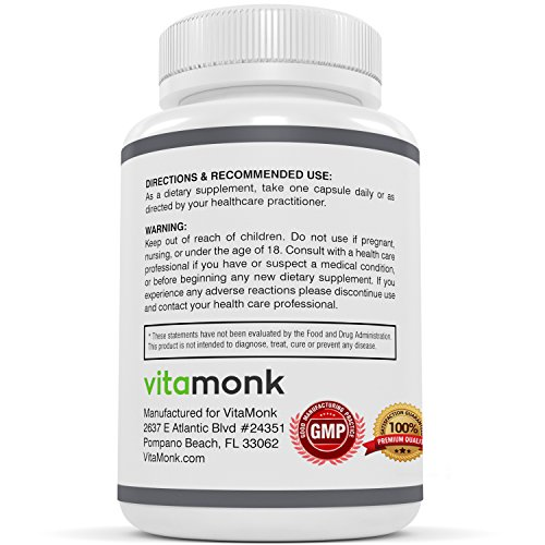 Pterostilbene 100mg Capsules by Vitamonk - AMPK Activator Longevity and Anti Aging Antioxidant Supplement - Improved Resveratrol60 capsules Discount