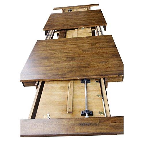 Amazon.com: Bowery Hill extensible mesa de comedor, diseño ...