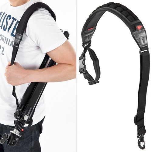 - AIRCELL ATS70NM Compatible Manfrotto Tripod AIR Cushion Non-Slip Carrying Neoprene Strap Belt
