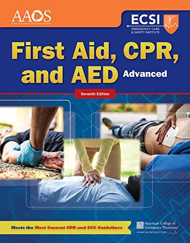 Emergency First Aid Cpr - Advanced First Aid, CPR, and AED (Orange Book)