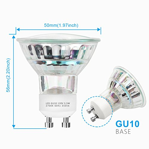 gu10 led bulbs winsee 50w halogen equivalent light 350 import it all. Black Bedroom Furniture Sets. Home Design Ideas