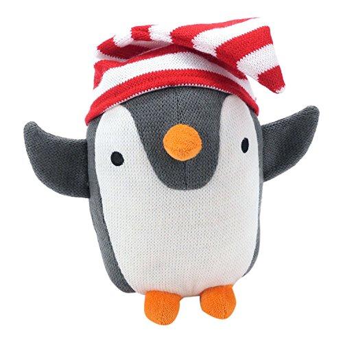 Hallmark Baby Holiday Penguin Plush Stuffed Animal with Stocking Hat