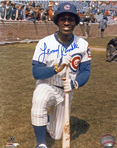 (Lenny Randle Autographed Photograph - Posed 8x10 - Autographed MLB Photos)