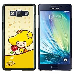 Caucho caso de Shell duro de la cubierta de accesorios de protección BY RAYDREAMMM - Samsung Galaxy A5 A5000 - mariposas abstractas del grunge