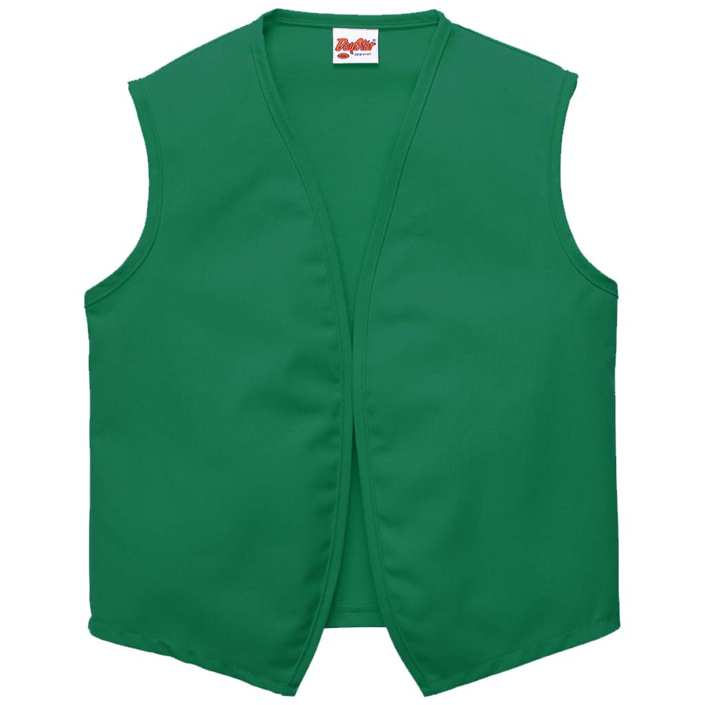 DayStar Apparel 740NP No Pocket Unisex Vest, Kelly, 5XL by DayStar Apparel