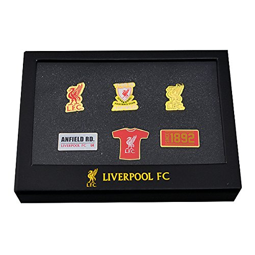 Liverpool 6 Pin Badge Set - One Size