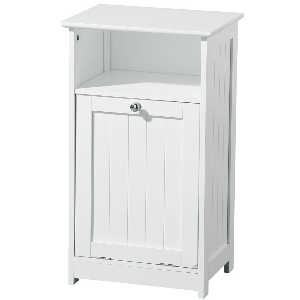 CLASSIC - Floor Standing Bathroom Storage Cabinet - White: Amazon.co ...